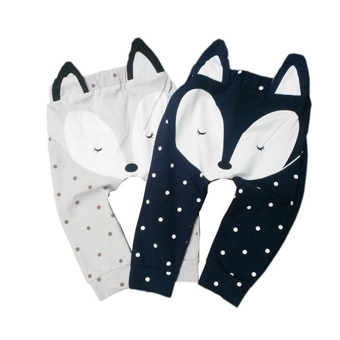 Baby Pants-fox harem pants