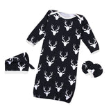Baby Sleep Sack Nighty Deer Print