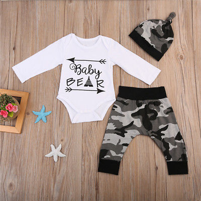 Baby Bear Boy Outfit