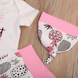 Baby Girl Sweet Child Pineapple Outfit