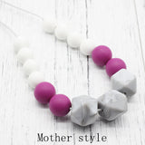 Teething Chew Bead Necklace