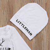 Baby Little Man Onesie and Hat