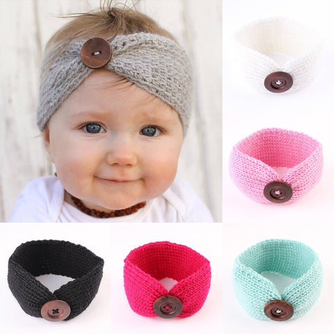 Baby Girl Crochet Headband