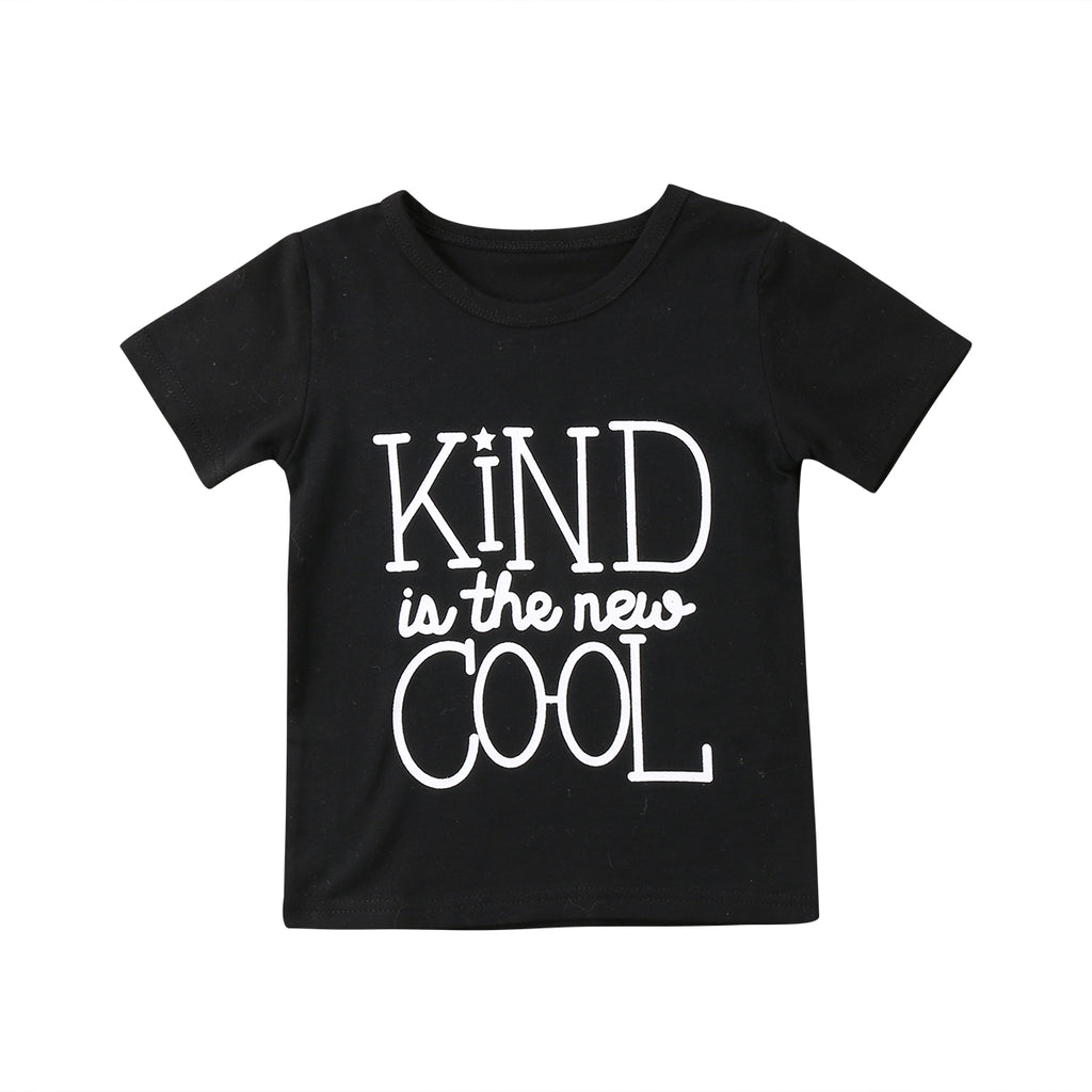 Kind is the New Cool T shirt, Unisex Quote Shirt