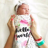 Newborn Toddler Swaddle Blanket
