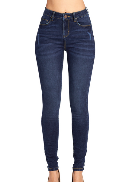 High Rise Stretch Skinny Jean
