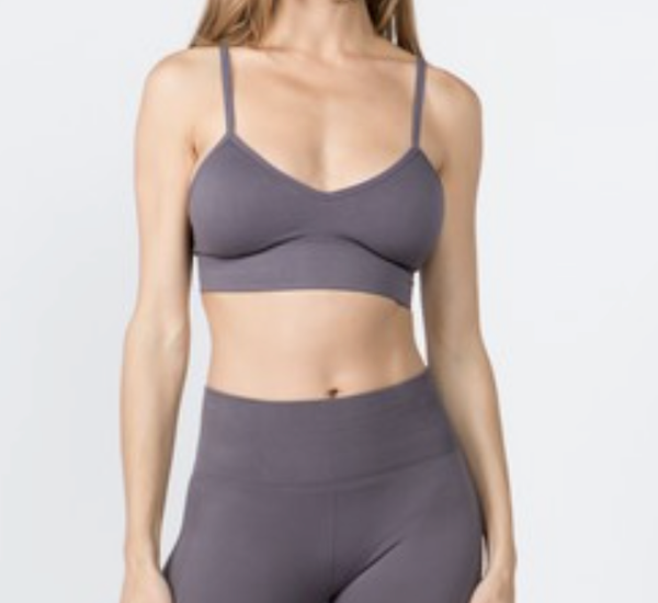 V-Neck Seamless Sports Top