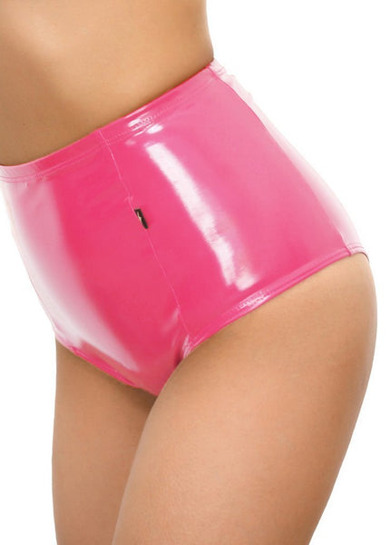 Bubblegum Liquid High Waisted Hot Pants - Cleo the Hurricane - PoleActive
