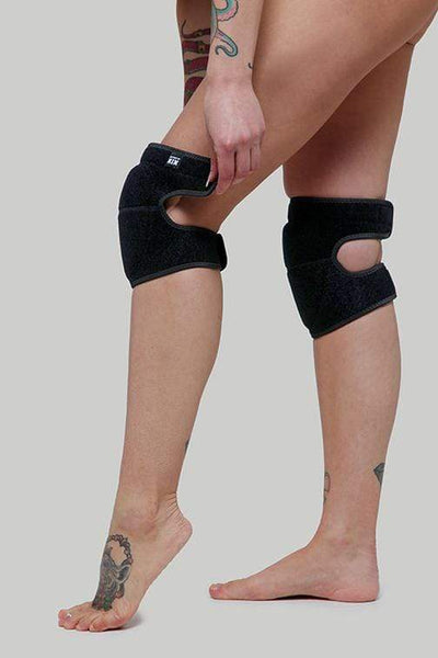 Creatures of XIX Accessories Velcro Knee Pads - Black Panther