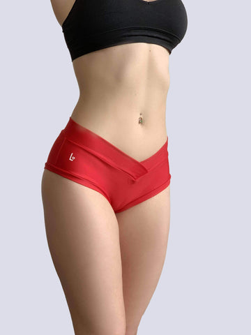 PoleActive Shorts Essential Shorts 2.0 Red