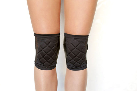 Poledancerka Accessories Poledancerka Knee Pads© Black with Pocket