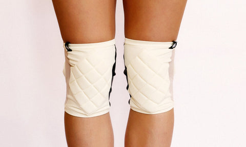 Poledancerka Accessories Poledancerka Knee Pads© Ivory White