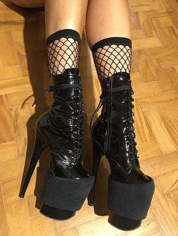 Rolling Accessories Mid Calf Fishnet