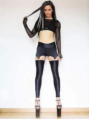 "Sorte Leggings Leggings ""Provocative Mind"" Black"