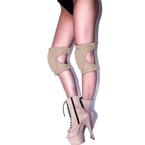 Super Fly Honey Accessories Sticky Gel Kneepads Nude