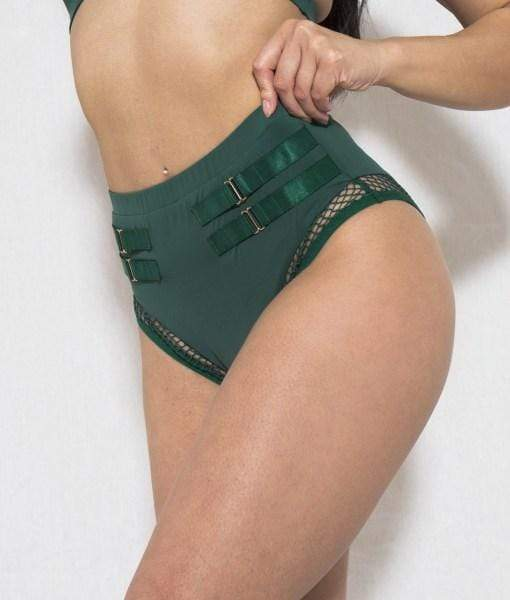 Tatiana Active Bottoms Isla Bottom - Forest Green