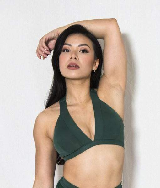 Tatiana Active Tops Isla Top - Forest Green