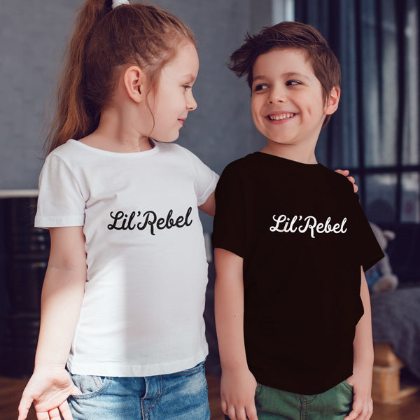 Lil'Rebel Short Sleeve Tshirt - KIDS