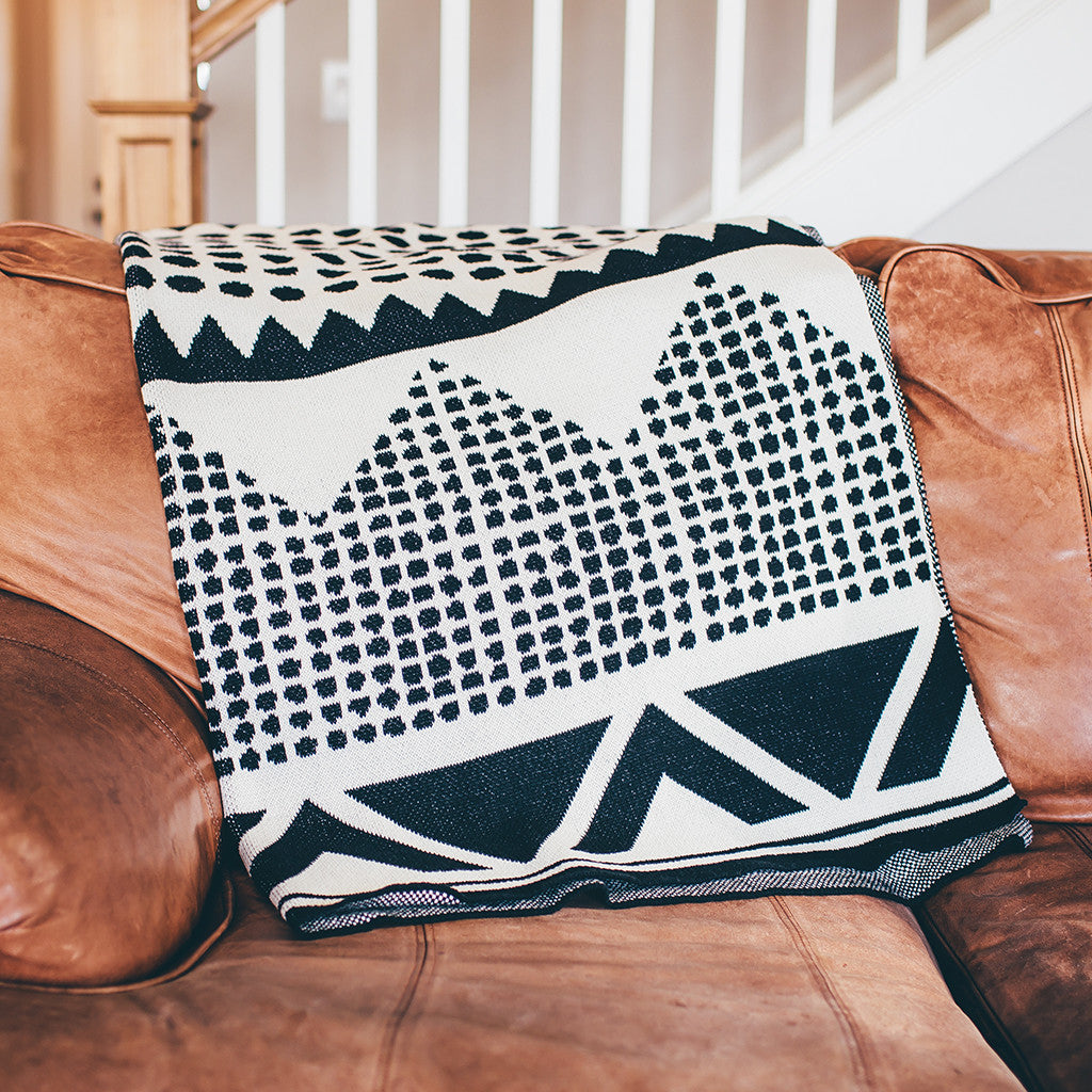 Seek & Swoon Adobe Throw Blanket
