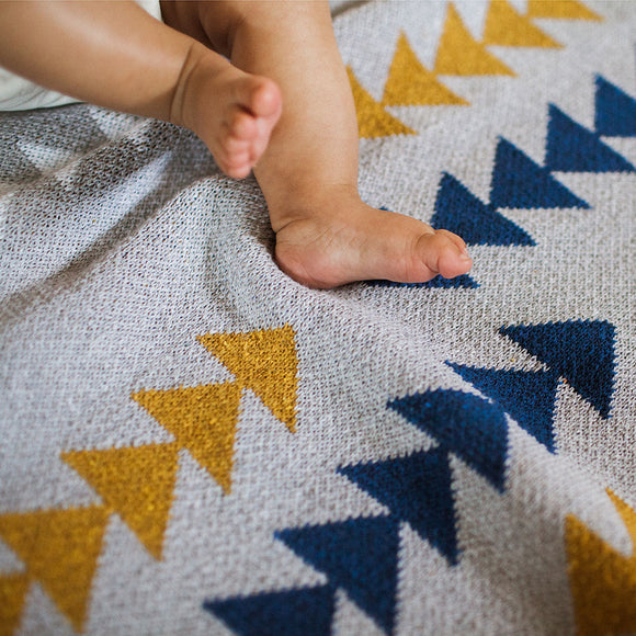 Seek & Swoon Baby Adventure Throw Blanket