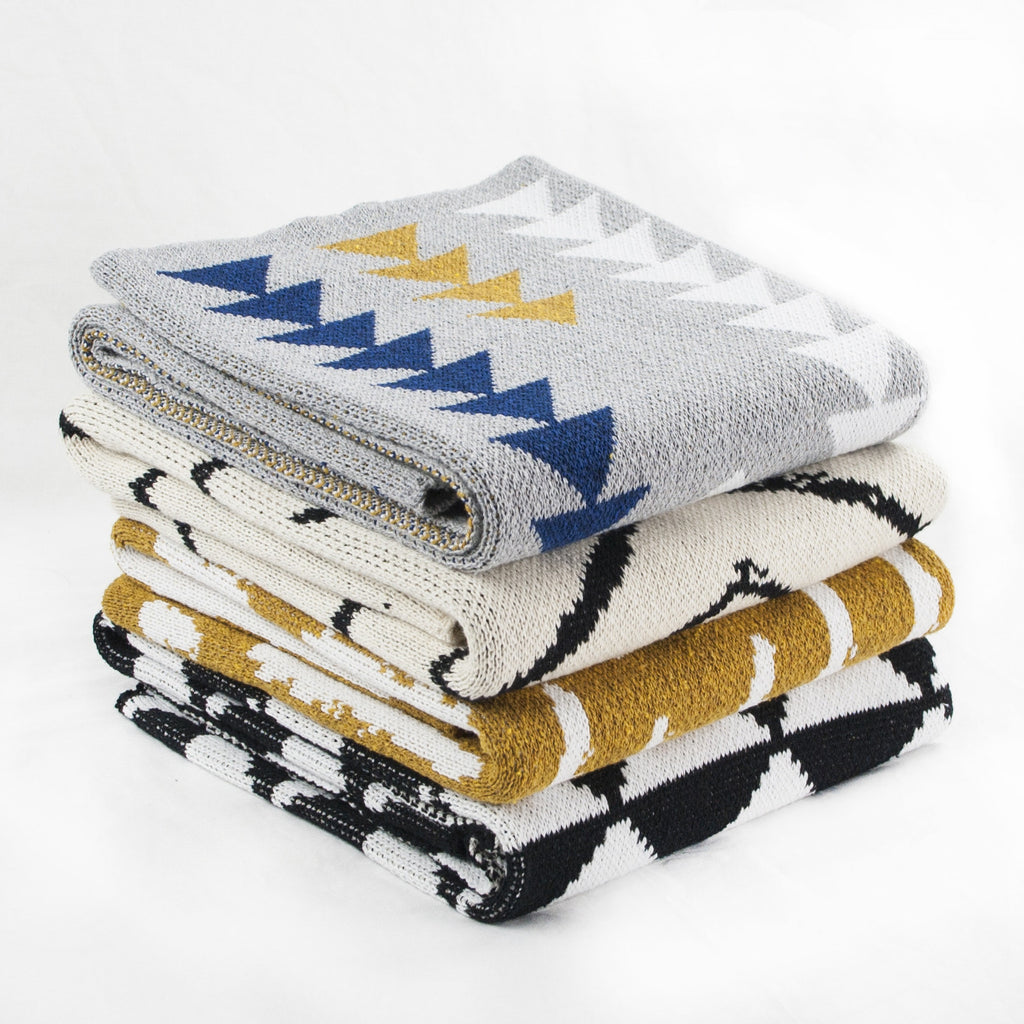 Seek & Swoon Baby Orca Throw Blanket