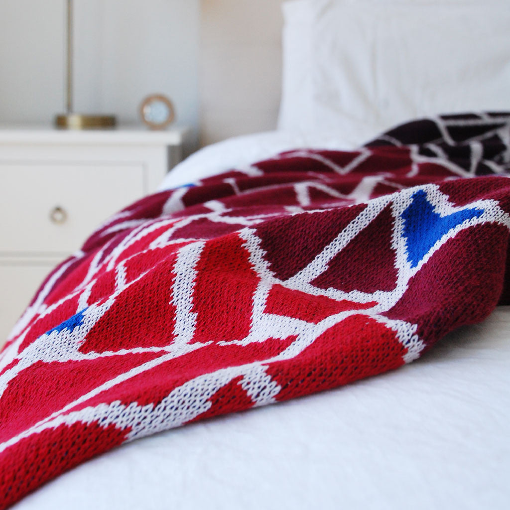Seek & Swoon Mosaic Throw Blanket
