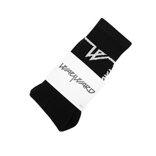 LOWGO SOCKS BLACK