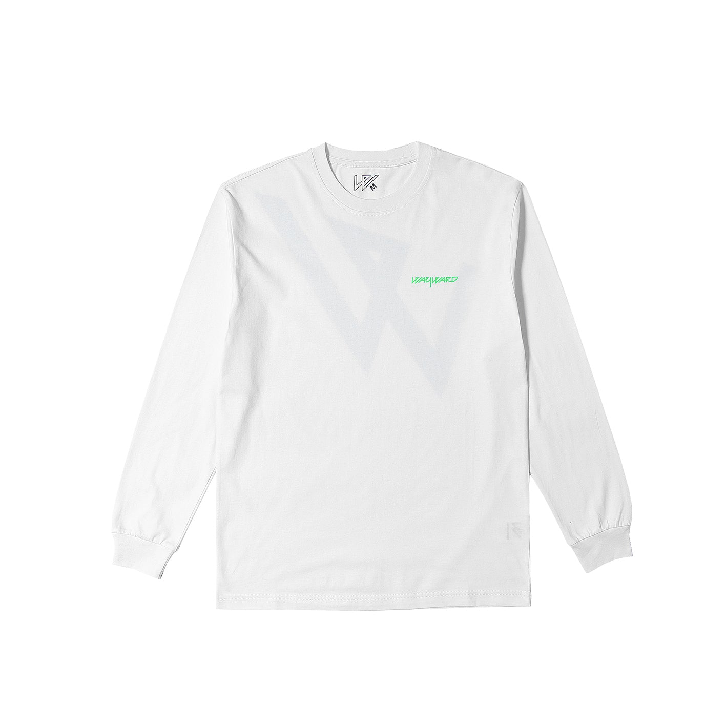 LOWGOS FLUROS LONG SLEEVE WHITE