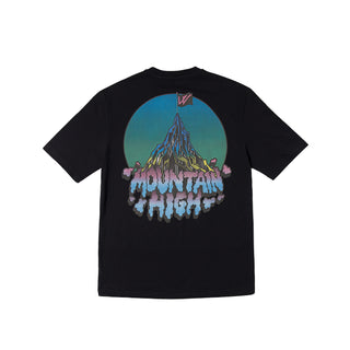 MOUNTAIN HIGH T-SHIRT BLACK
