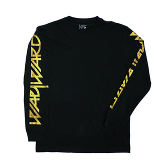 SNIPES LONGSLEEVE T-SHIRT BLACK