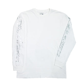 SNIPES LONGSLEVE T-SHIRT WHITE