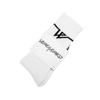 LOWGO SOCKS WHITE