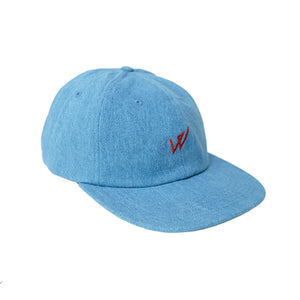 WALPHY SPORTS CAP DENIM STONEWASH SALE -50%