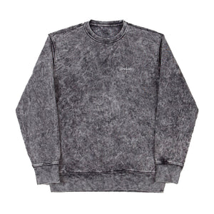 ACID CREW SWEATSHIRT BLACK SALE -50%