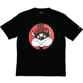 GET LUCKY T-SHIRT BLACK