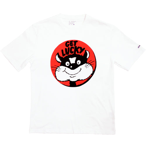 GET LUCKY T-SHIRT WHITE