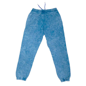 ACID TERRY JOGGERS BLUE