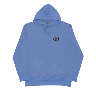 OPIUM FLASHBACK HOODED SWEATSHIRT CORNFLOWER
