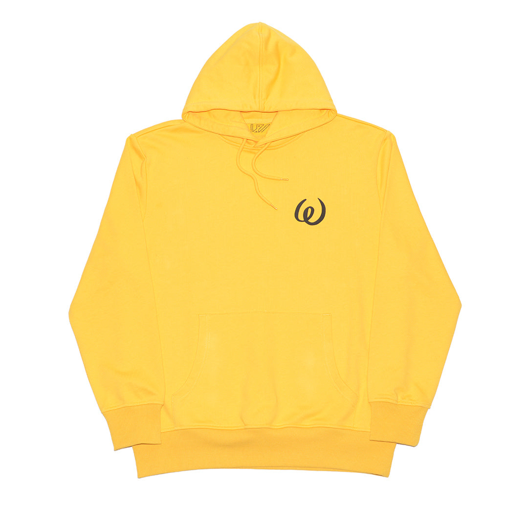OPIUM FLASHBACK HOODED SWEATSHIRT SUNFLOWER