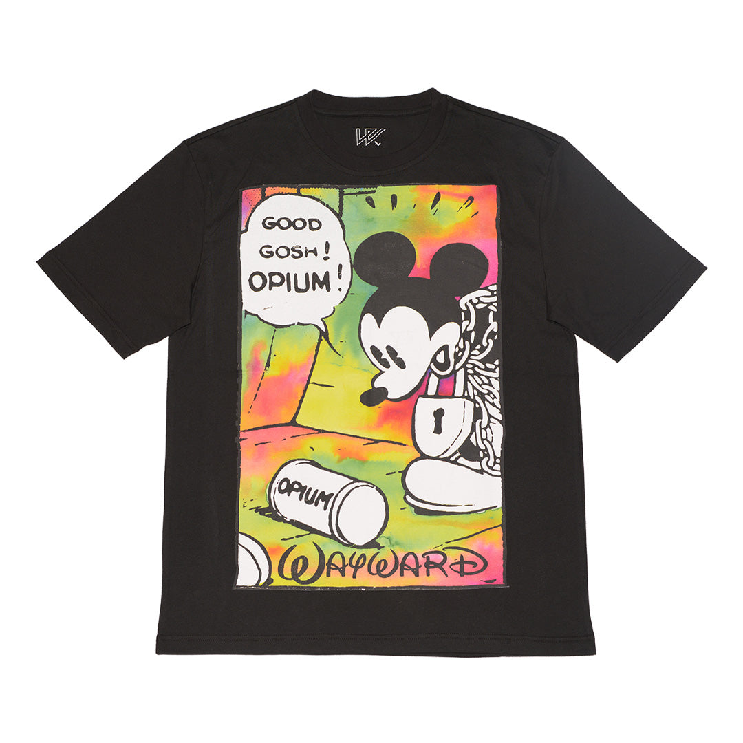 OPIUM FLASHBACK T-SHIRT BLACK