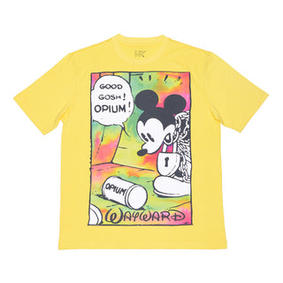 OPIUM FLASHBACK T-SHIRT YELLOW