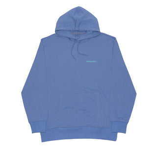 PASTEL DE NUTTAH HOODED SWEATSHIRT CORNFLOWER