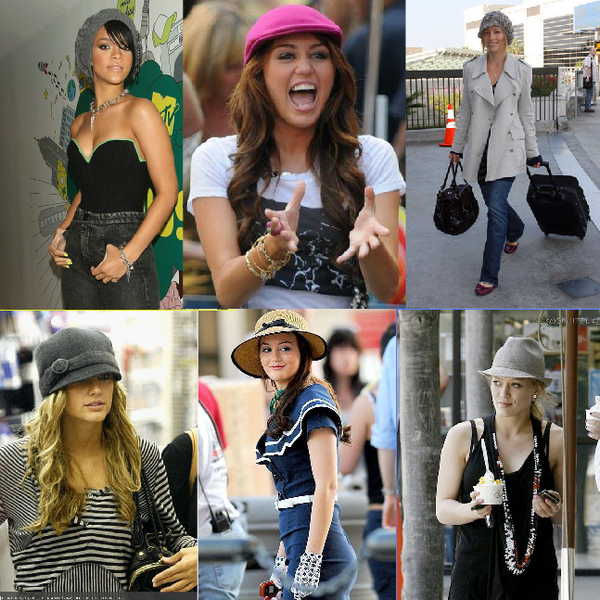Grace hats on Celebrities