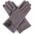 FAUX SUEDE TEXTING GLOVES