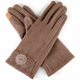 FAUX SUEDE TEXTING GLOVES - GraceHats Gloves Grace Hats - Grace Hats