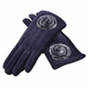 APPLE CHENILLE TXT GLOVES - GraceHats Gloves Grace Hats - Grace Hats