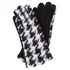 HOUNDSTOOTH TXT GLOVES