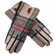 RUBBIE PLAID GLOVES