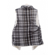 CHECKERED SHERPA  VEST - GraceHats Vest Grace Hats - Grace Hats