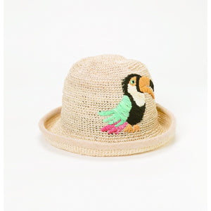 BOWLER HAT TROPICAL - GraceHats Hat Grace Hats - Grace Hats